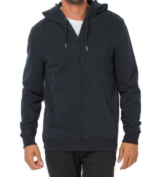ANIMAL MENS HOODY.SAFOU ZIP BLACK HOODED TOP WARM HOODIE JACKET JUMPER 8W 13 2
